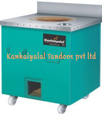 Mild Steel Square Tandoor with SS