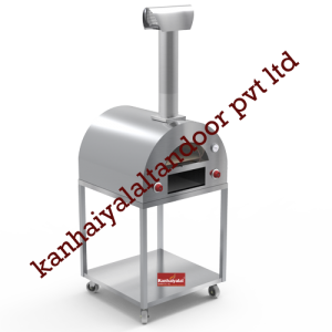 S.S Pizza Oven with Trolley