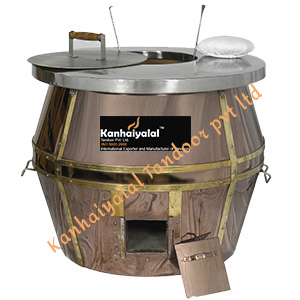 Rose Gold Barrel Tandoor