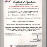 ISO Certificate 2013-16